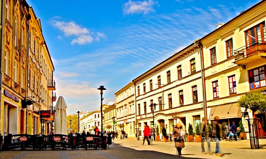 Lublin-Krakowskie Przedmieście rano