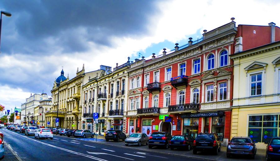 Lublin Krakowskie Przedmieście - okolica Hotelu Wieniawski