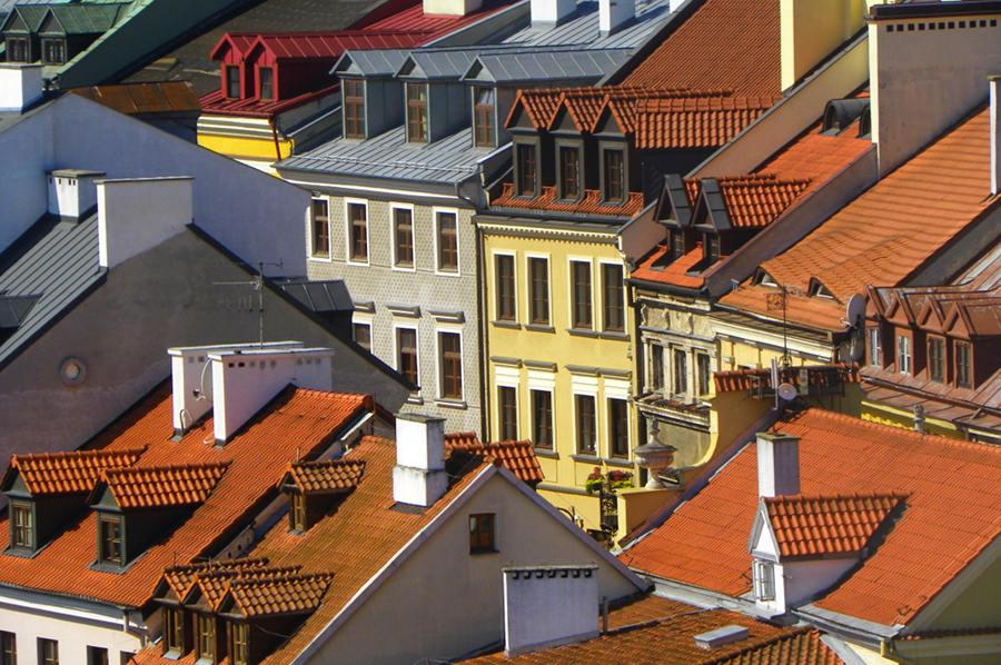 Dachy Starego Miasta w Lublinie