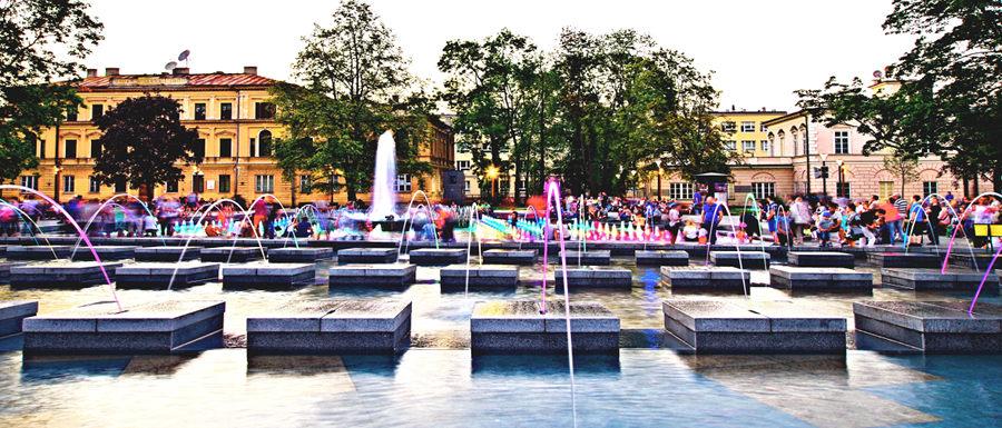 Kaskada fontanny