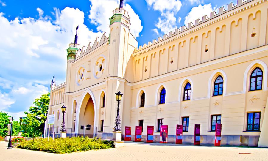 Zamek w Lublinie nieopodal Hotelu Ilan