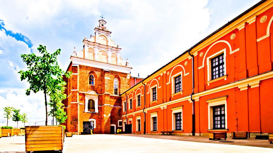 Średniowieczna kaplica zamkowa niedaleko Arche Hotel Lublin