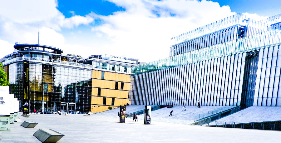 Lubelskie Centrum Konferencyjne obok hotelu Wieniawski
