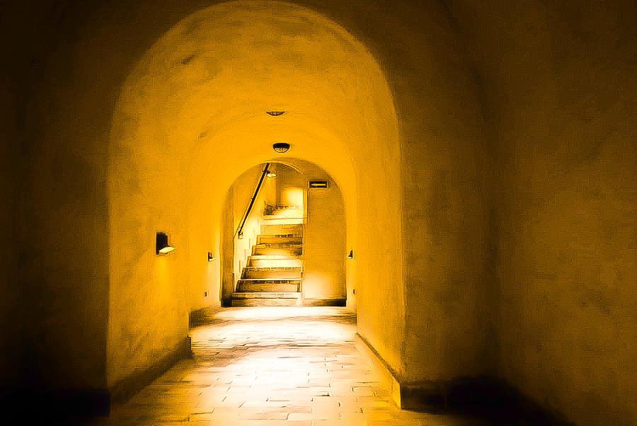 Podziemny zakamarek na Starym Mieście w Lublinie