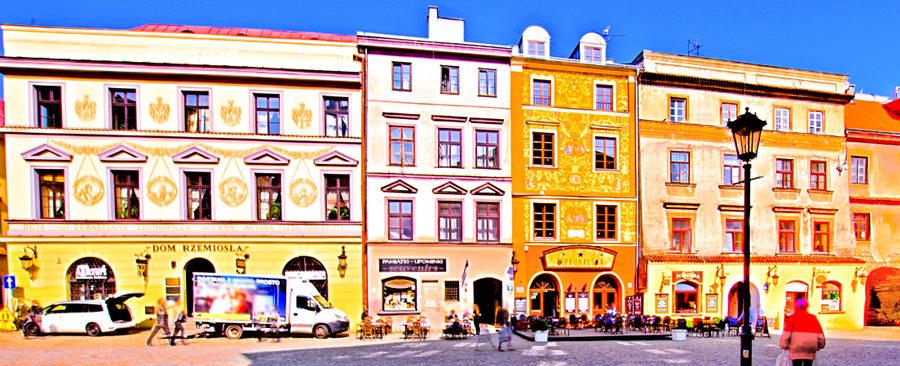 Rynek Starego Miasta 1300 m od Hotelu Forum w Lublinie
