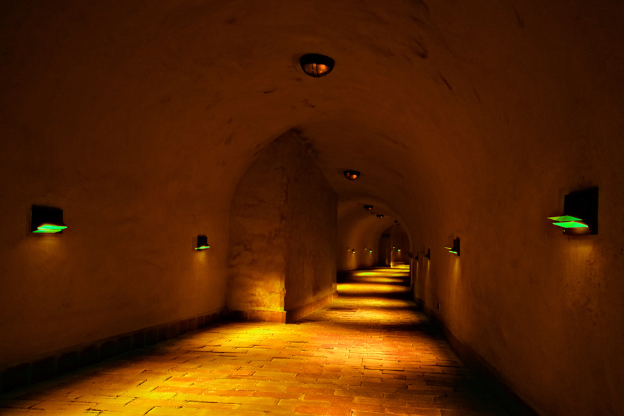 Trasa podziemna 1300 m od Hotelu Forum Lublin