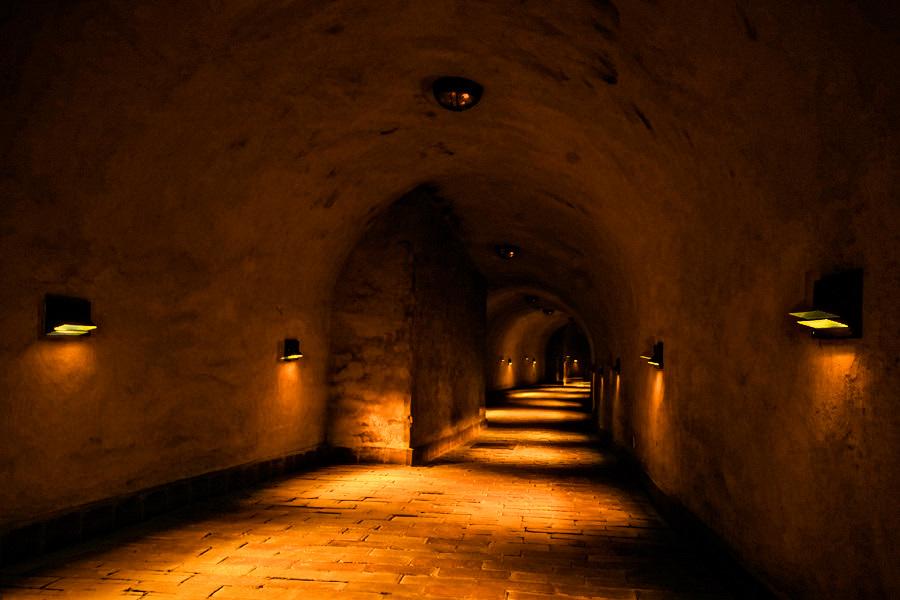 Trasa podziemna 500 m od Hotelu Vanilla w Lublinie