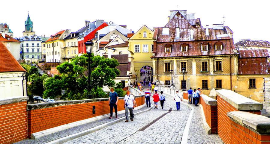 Ulica Zamkowa w Lublinie