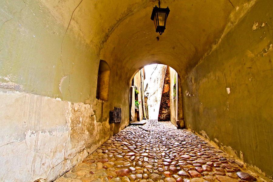 Wąskie gardło ulicy na Starym Mieście
