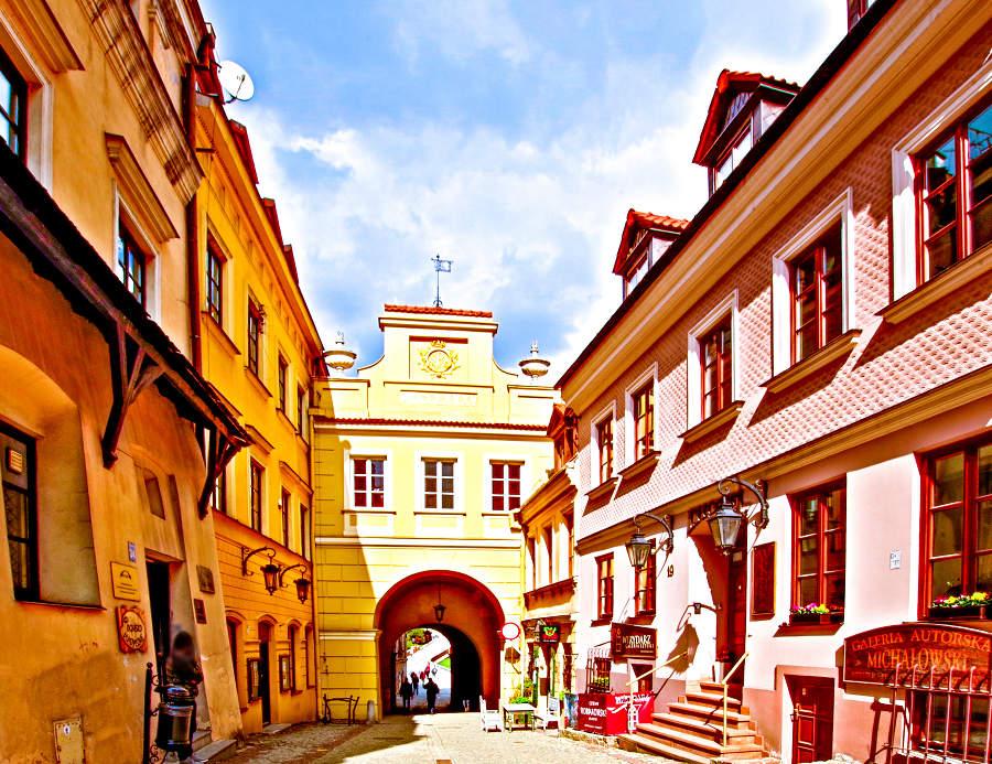Wyjście ze Starego Miasta