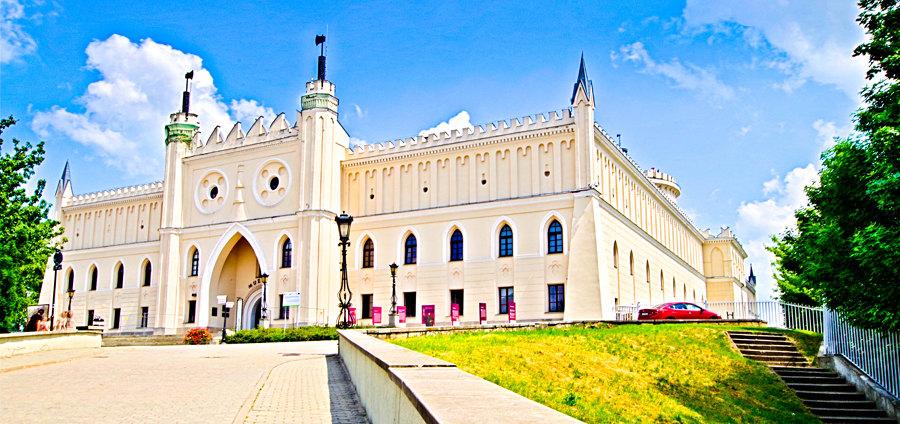 Zamek w Lublinie oddalony o kilometr od Hotelu Forum