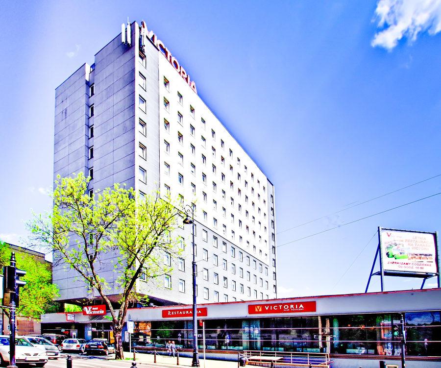 Zdjęcie Hotel Victoria Lublin w słońcu