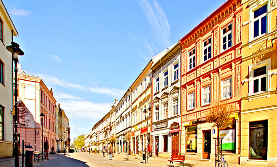 Krakowskie Przedmieście tuż obok Apartamentów przy Starówce