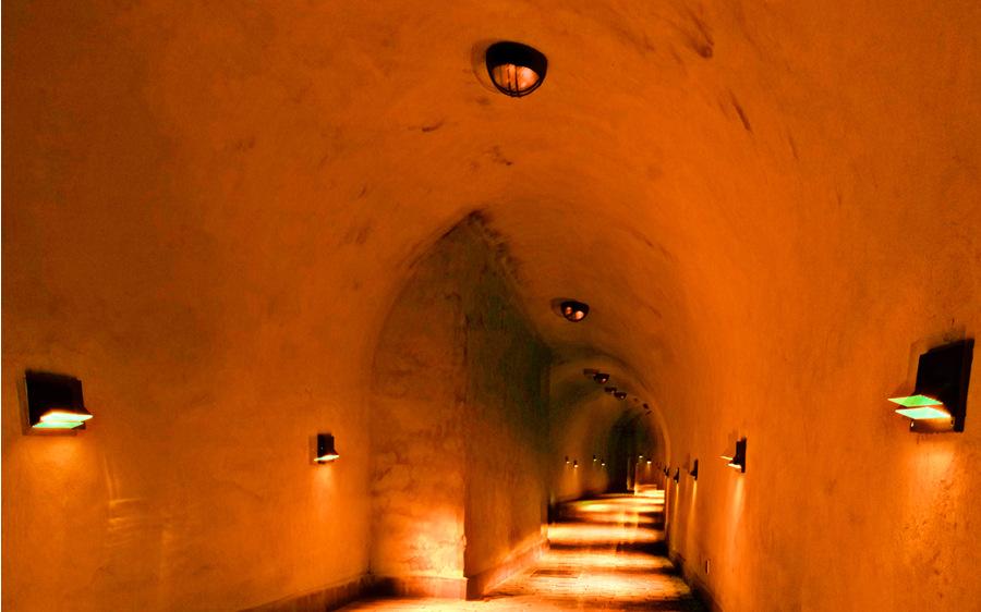 Trasa podziemna w pobliżu Hotel Waksman Lublin