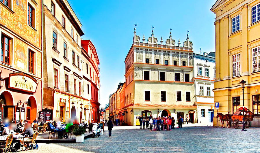 Z Hotelu Focus na Rynek Starego Miasta w Lublinie
