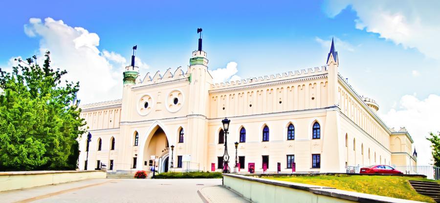 Zamek blisko hotelu Waksman Lublin