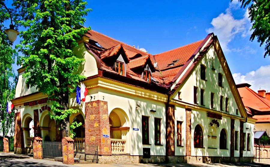 Zdjęcie zbliżone na Hotel Browar Lwów w Lublinie