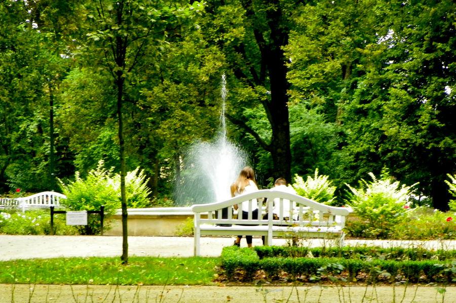 Relaks w Ogrodzie Saskim tuż obok Hotelu Wieniawski w Lublinie