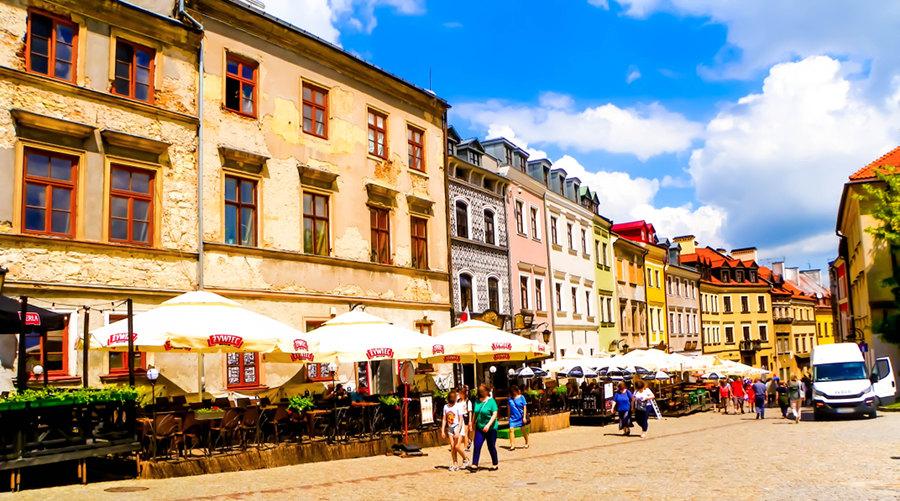 Droga do Hotelu Grodzka 20 w Lublinie, w galerii zdjęć
