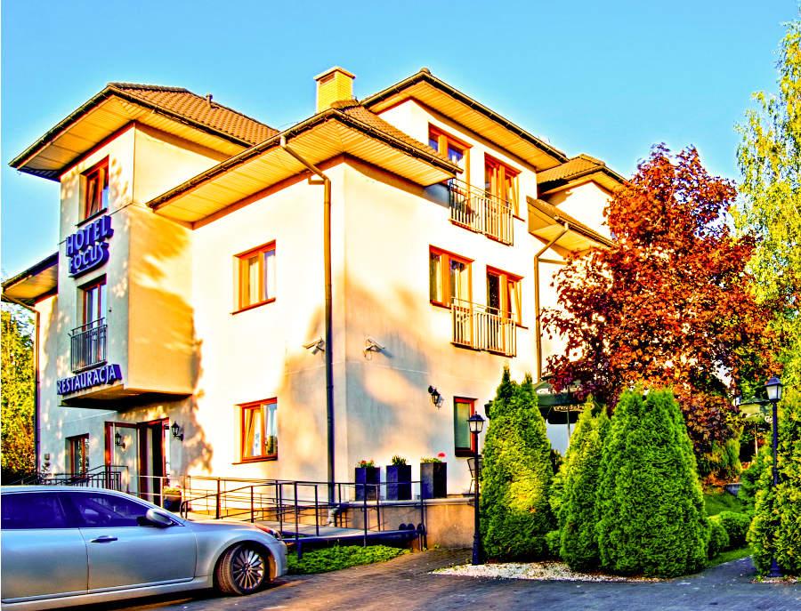 Hotel Focus w Lublinie, przy Al. Kraśnickiej - zdjęcie do galerii