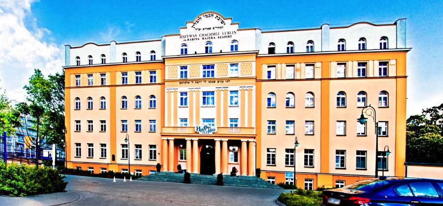 Widok z boku, Hotelu Ilan w Lublinie, w galerii zdjęć