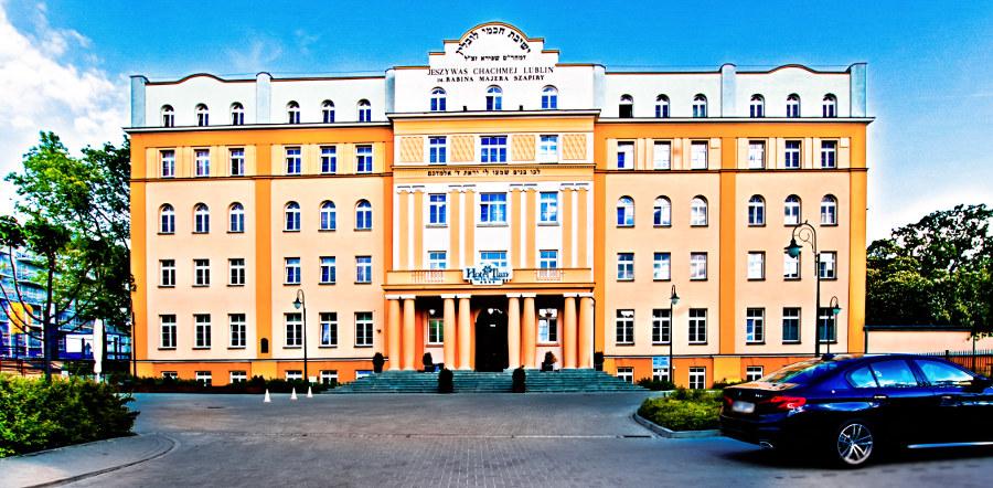 Hotel Ilanw w Lublinie, z oddalenia, w galerii zdjęć