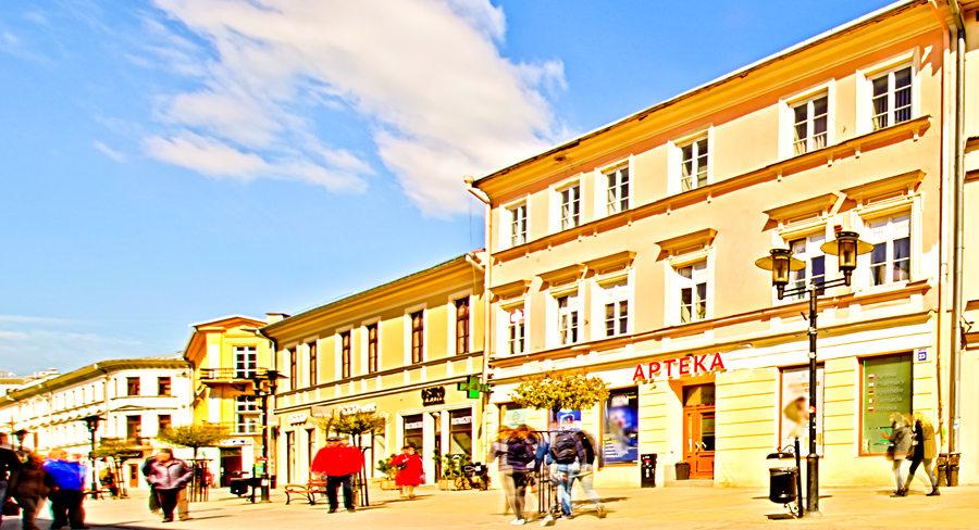 Perspektywa Folk Hostel w Lublinie (prawa autorskie Foto-hotel.pl)