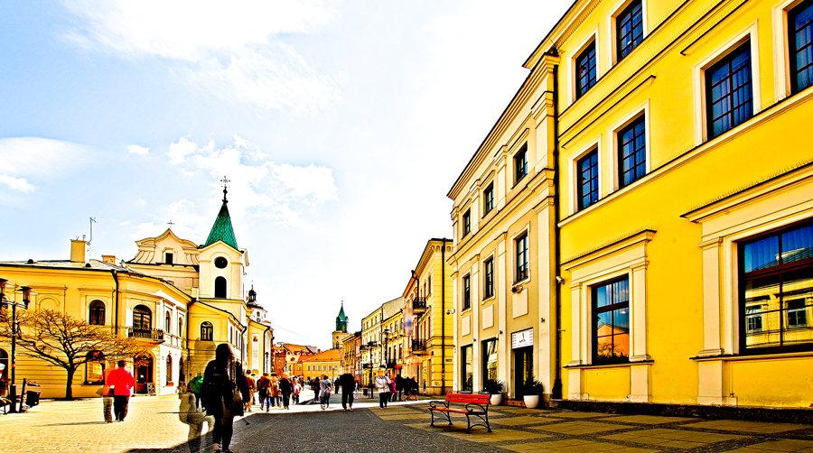 Otoczenie Hotelu Vanilla w Lublinie, w galerii zdjęć