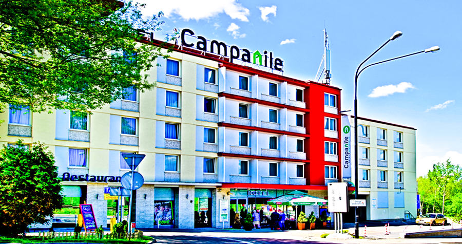 Perspektywa Hotelu Campanile w Lublinie - zdjęcie do galerii