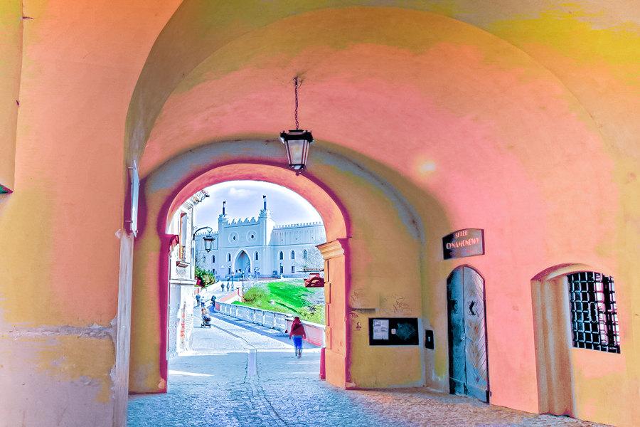 W Bramie Grodzkiej Starego Miasta w Lublinie, obok Hotelu Waksman - zdjęcie do galerii