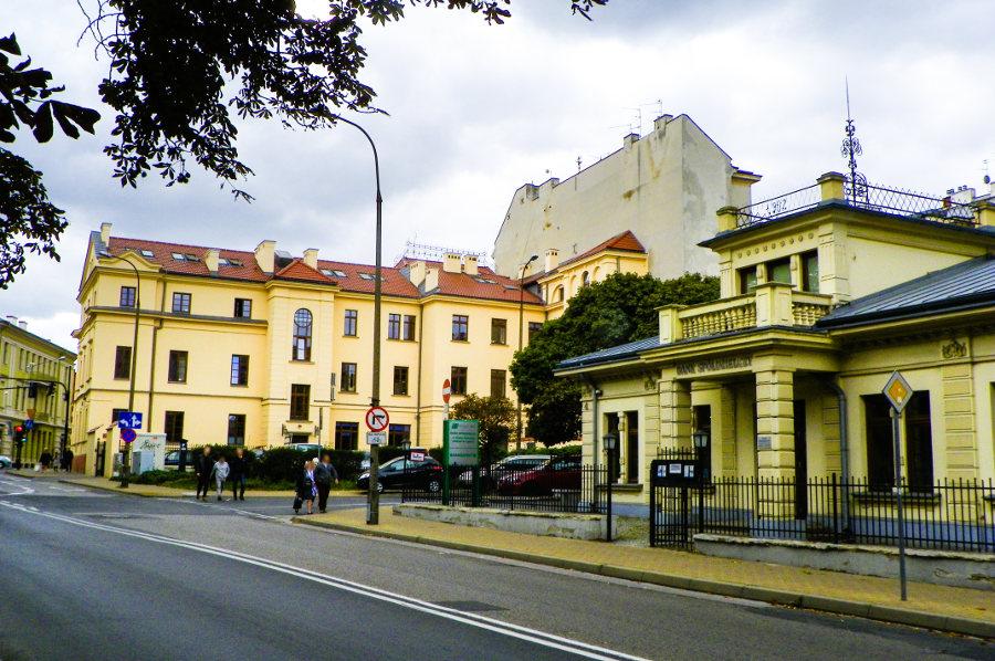 Otoczenie Cent Hostel w Lublinie, w galerii zdjęć
