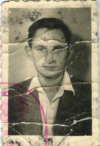 Skan zdjęcia młodego mężczyzny z Lublina