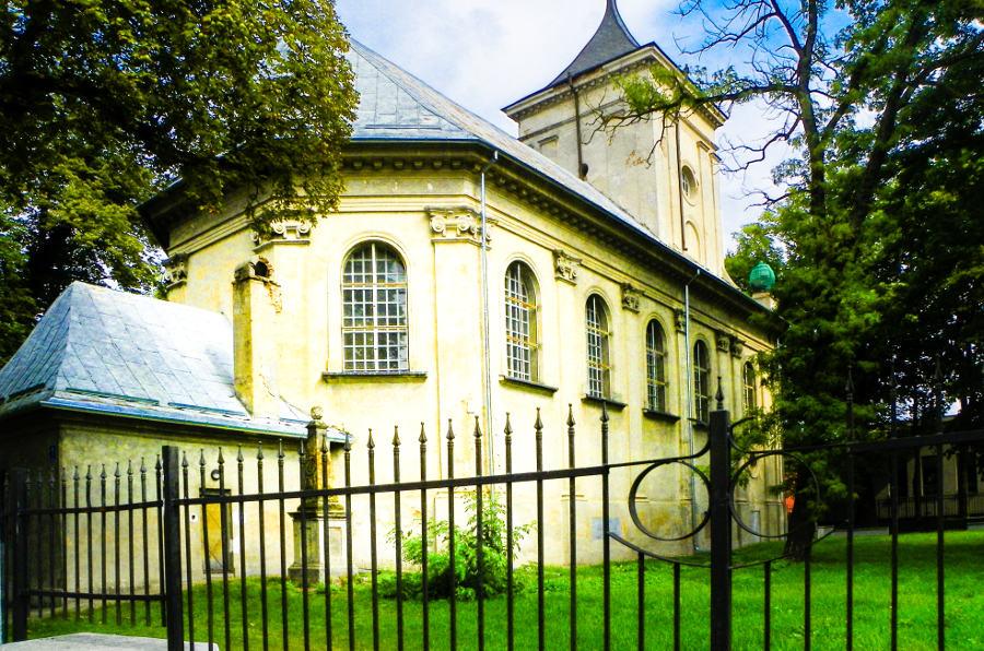 Widok z Cent Hostel w Lublinie, do galerii zdjęć