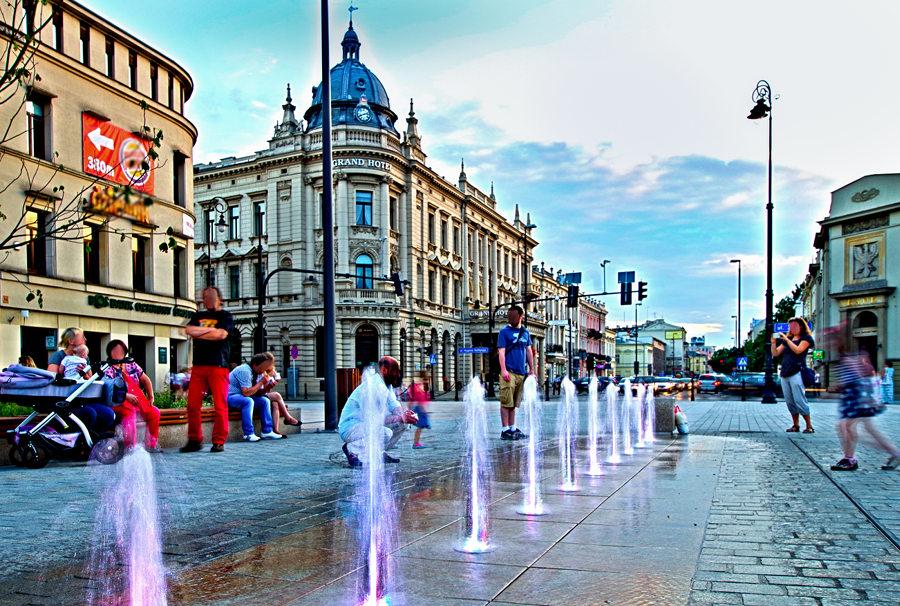 Srebrna woda przy IBB Grand Hotelu Lublinianka, w galerii zdjęć