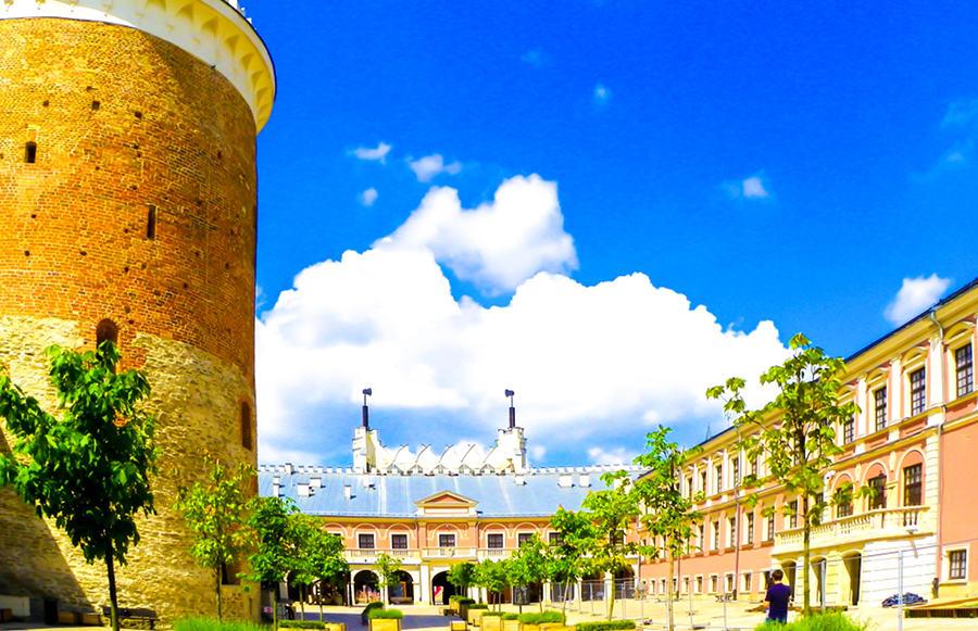 Baszta i krużganki na Zamku w Lublinie