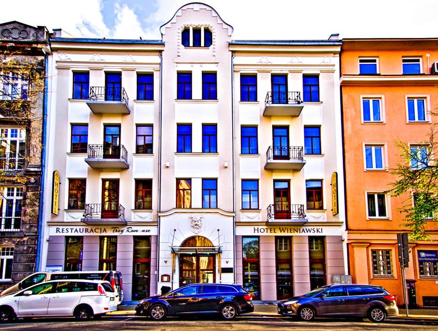 Zdjęcie Hotelu Wieniawski, przy ul. Sądowej w Lublinie