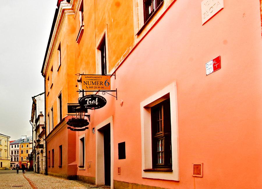 Apartamenty Nr 6 w Lublinie - zdjęcie w perspektywie, do galerii
