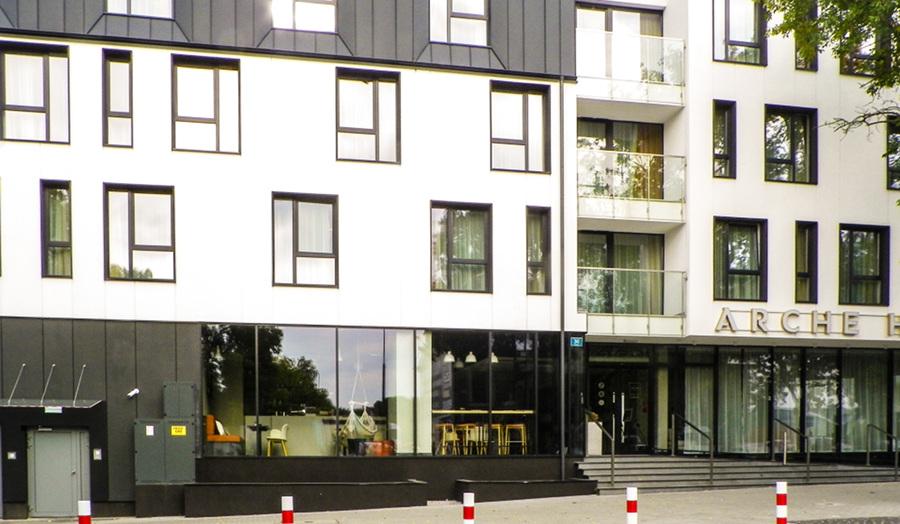 Wejście do Arche Hotel Lublin - zdjęcie do galerii