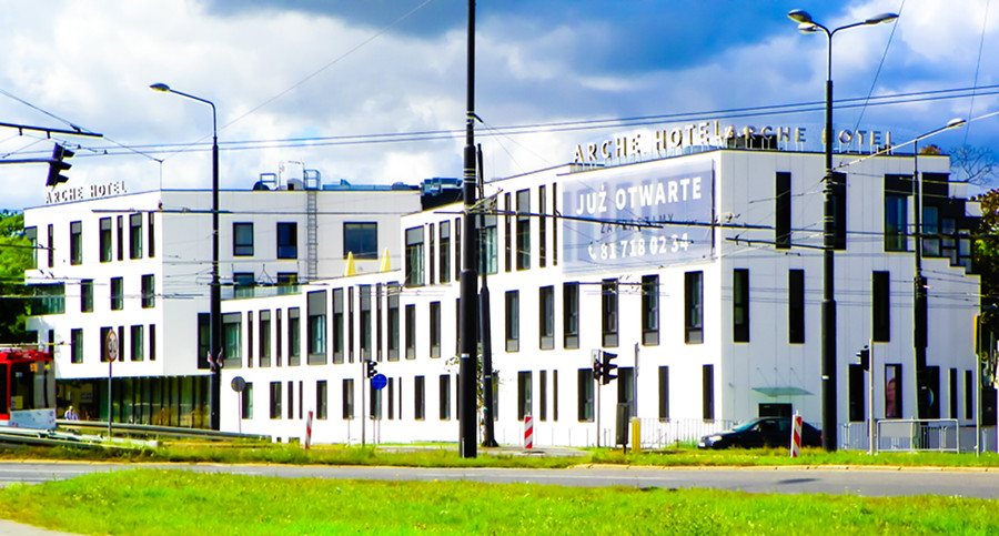 Arche Hotel Lublin - zdjęcie z daleka, do galerii