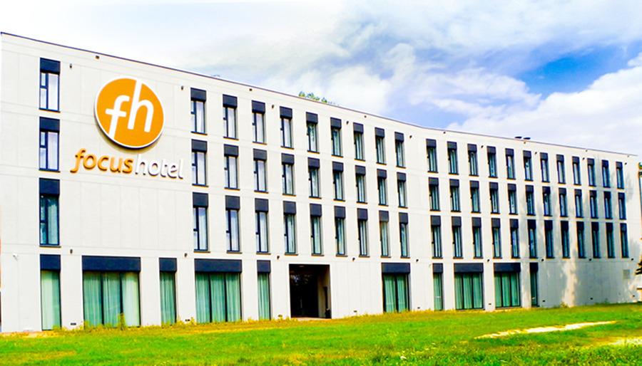 Fasada Focus Hotel Premium Lublin - zdjęcie do galerii