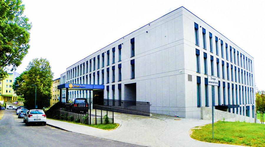 Fasada tylna Focus Hotel Premium Lublin, do galerii zdjęć