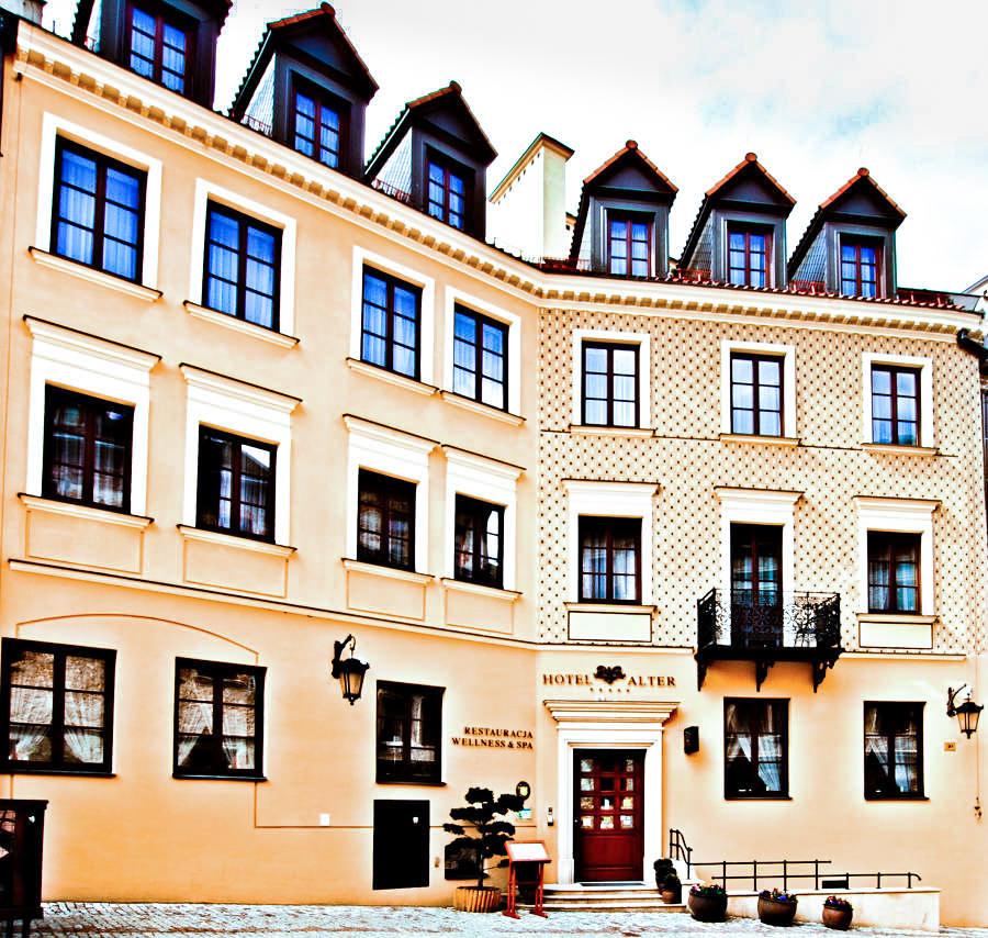 Fasada Hotelu Alter w Lublinie - zdjęcie do galerii