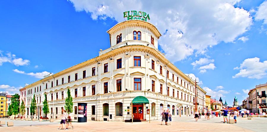 Hotel Europa i lubelski deptak - zdjęcie do galerii