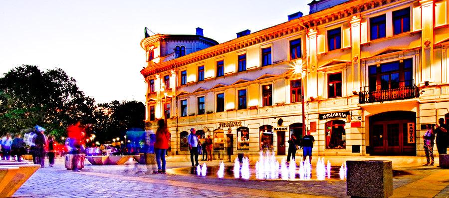 Fasada hotelu Europa Lublin do galerii zdjęć