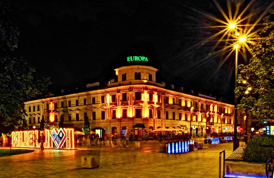 Hotel Europa Lubli pod gwiazdami - zdjęcie do galerii