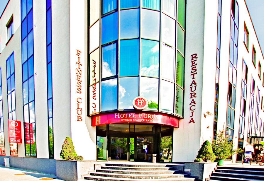 Wejście do Hotelu Forum w Lublinie - zdjęcie do galerii
