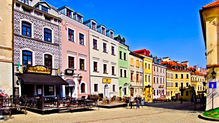 Hotel Grodzka 20 na ul. Grodzkiej w Lublinie - do galerii zdjęć