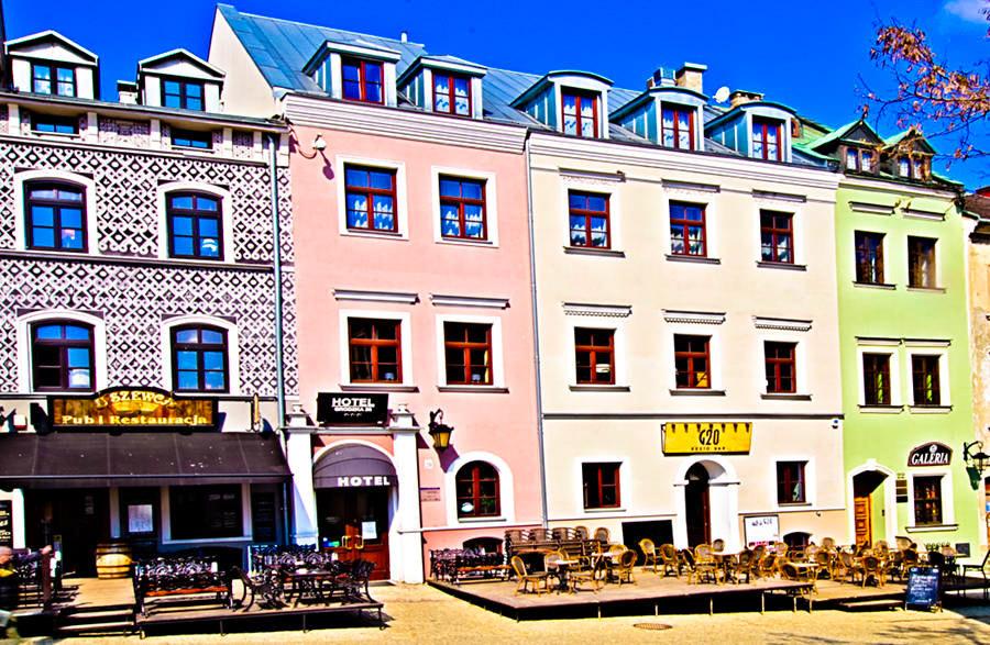 Hotel Grodzka 20 o świcie - zdjęcie do galerii