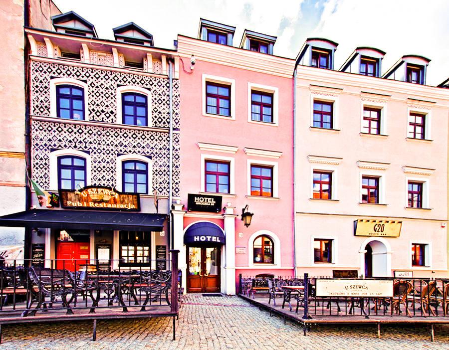 Hotel Grodzka 20 w Lublinie - zdjęcie do galerii