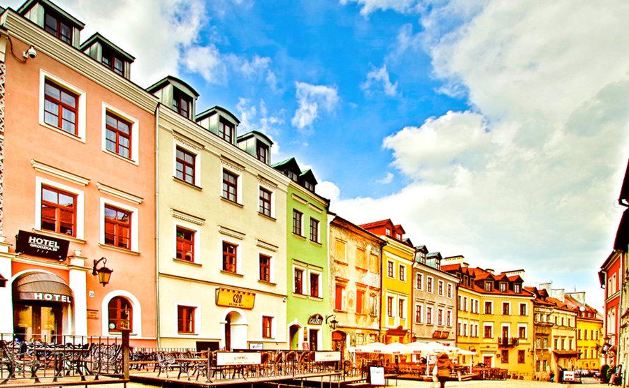 Hotel Grodzka 20 w Lublinie, w pasażu kamienic - zdjęcie do galerii